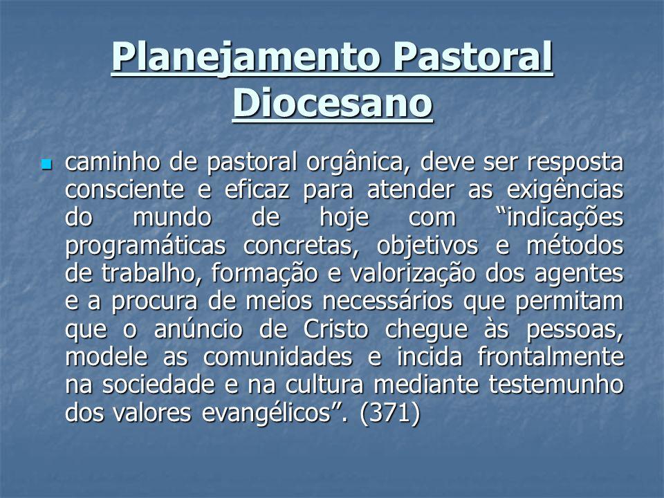 Planejamento Pastoral Diocesano