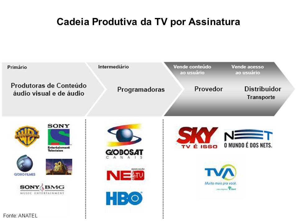 Cadeia Produtiva da TV por Assinatura