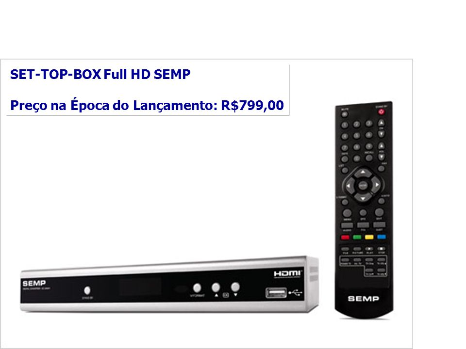 SET-TOP-BOX Full HD SEMP