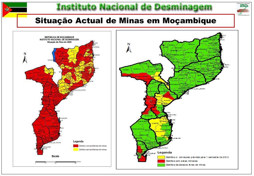 Situação Actual de Minas em Moçambique