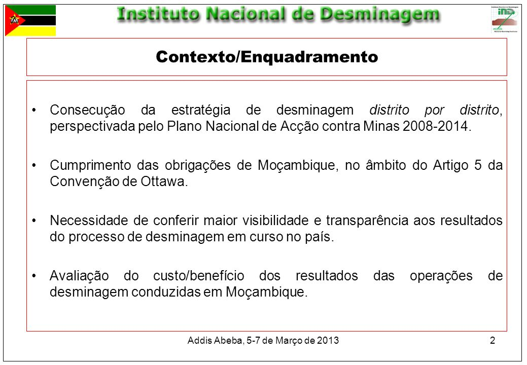 Contexto/Enquadramento