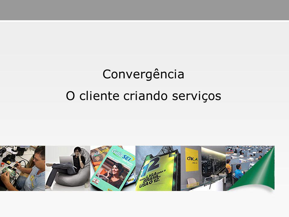 O cliente criando serviços