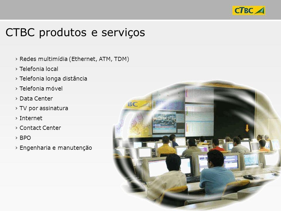 CTBC produtos e serviços