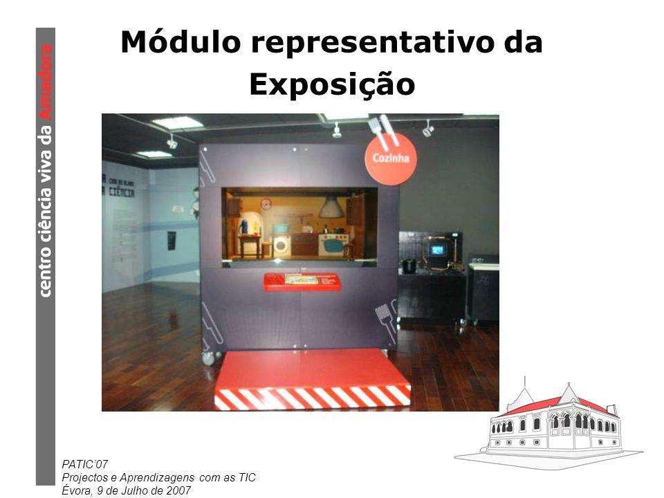Módulo representativo da Exposição