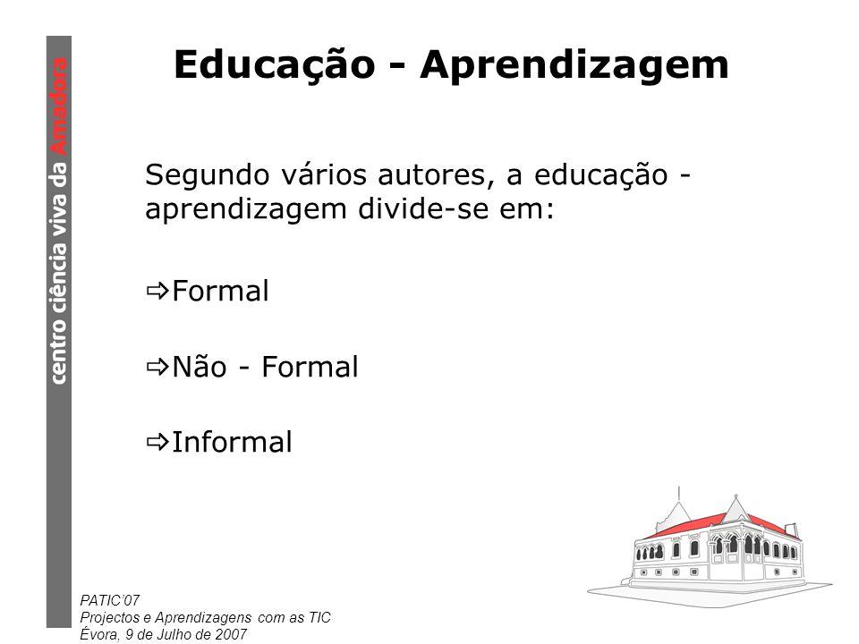 Educação - Aprendizagem