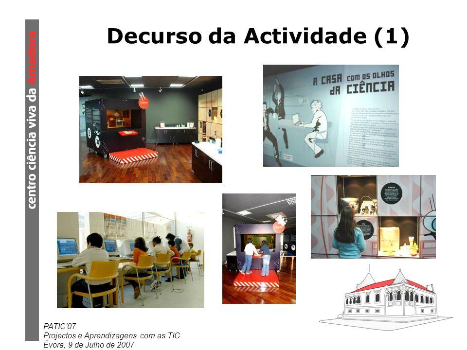 Decurso da Actividade (1)