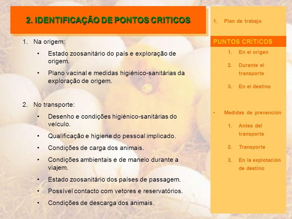 2. IDENTIFICAÇÃO DE PONTOS CRITICOS