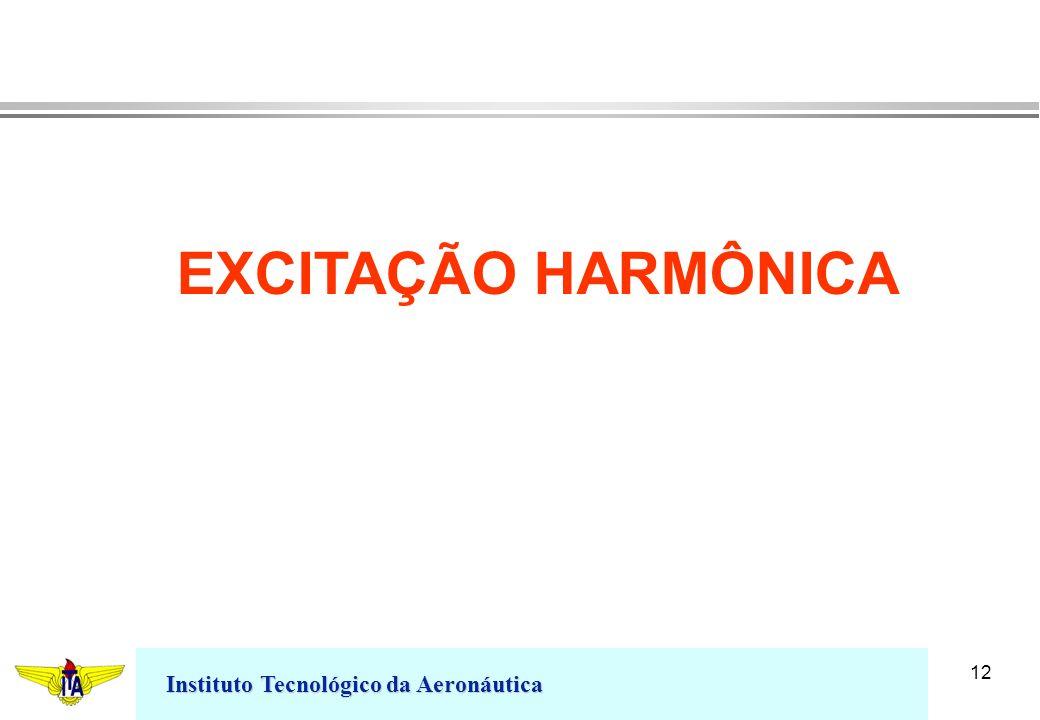EXCITAÇÃO HARMÔNICA