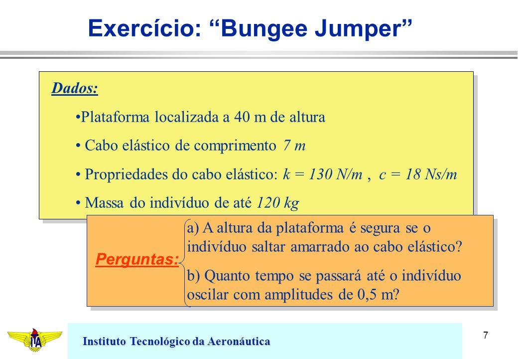 Exercício: Bungee Jumper