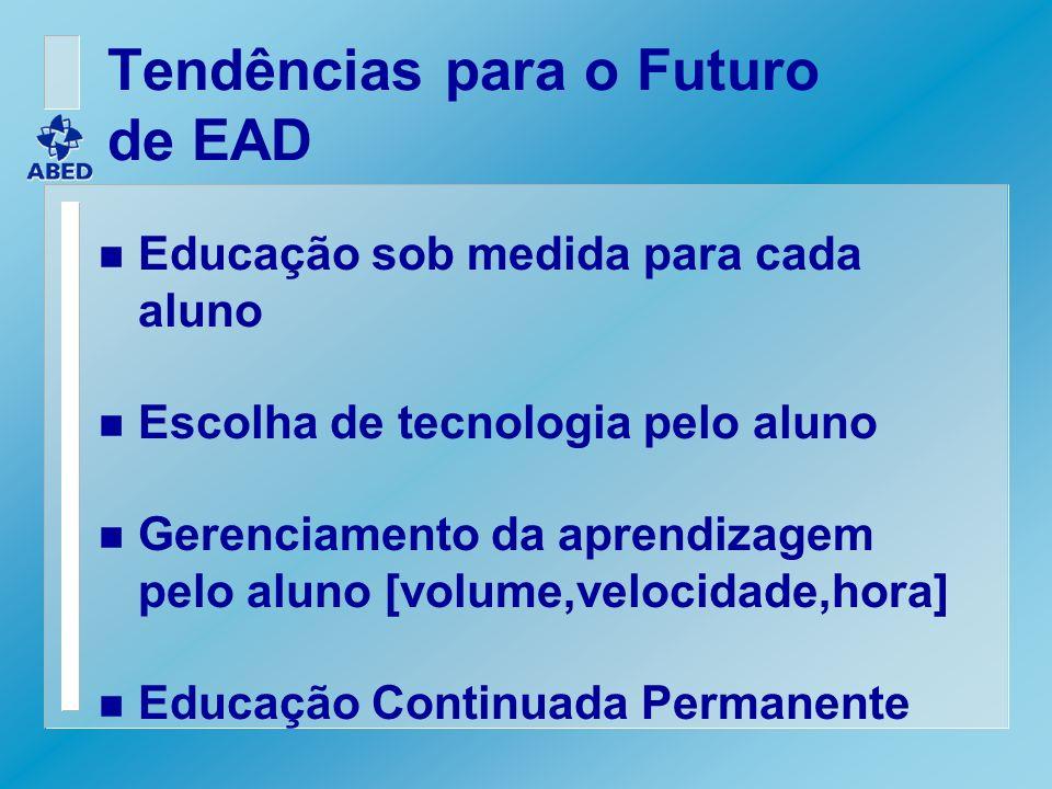 Tendências para o Futuro de EAD
