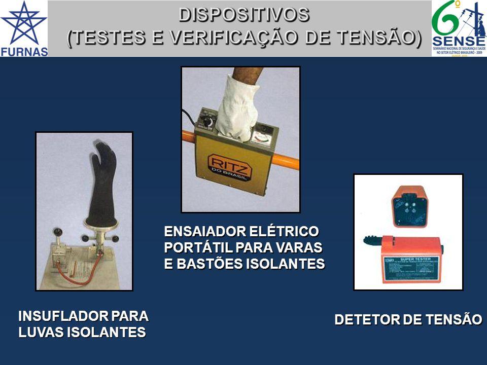 DISPOSITIVOS (TESTES E VERIFICAÇÃO DE TENSÃO)