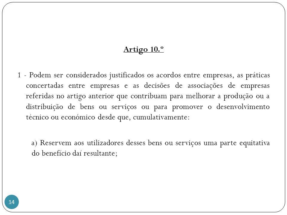 Artigo 10.º
