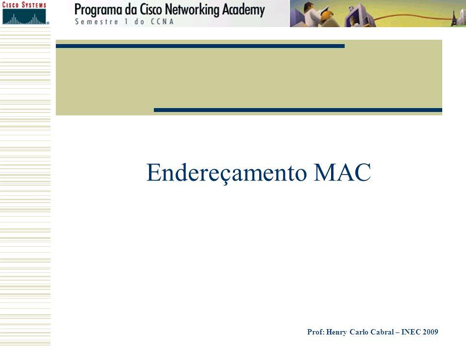 Endereçamento MAC