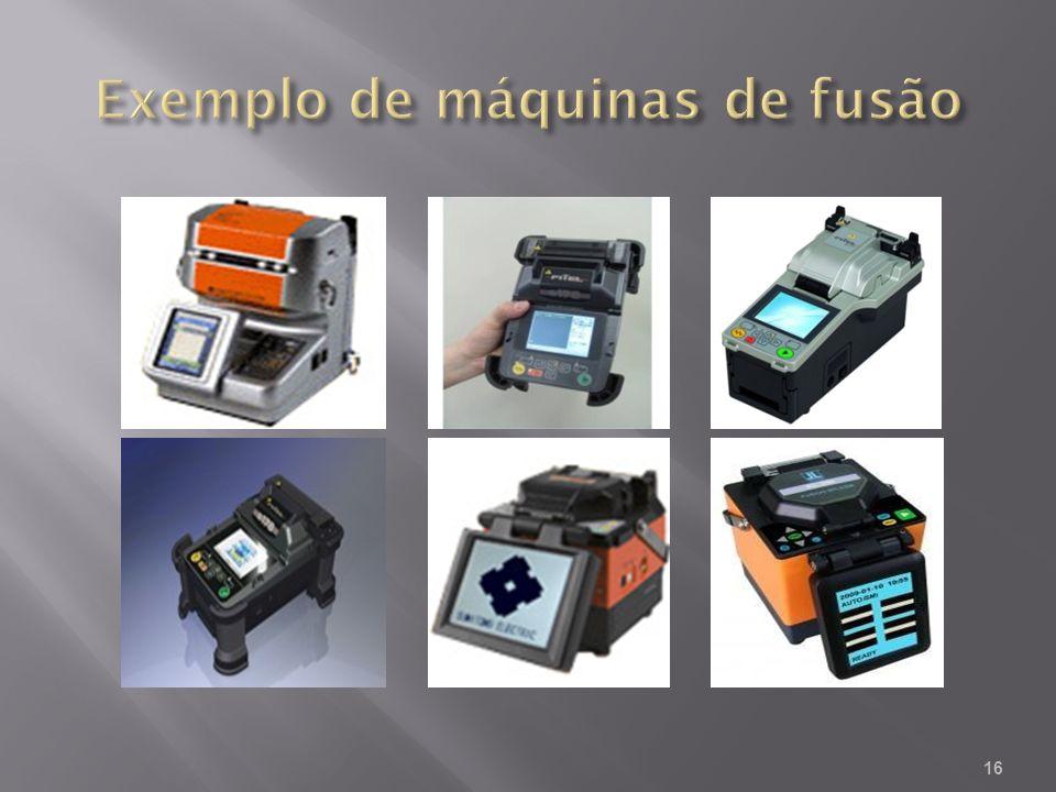 Exemplo de máquinas de fusão
