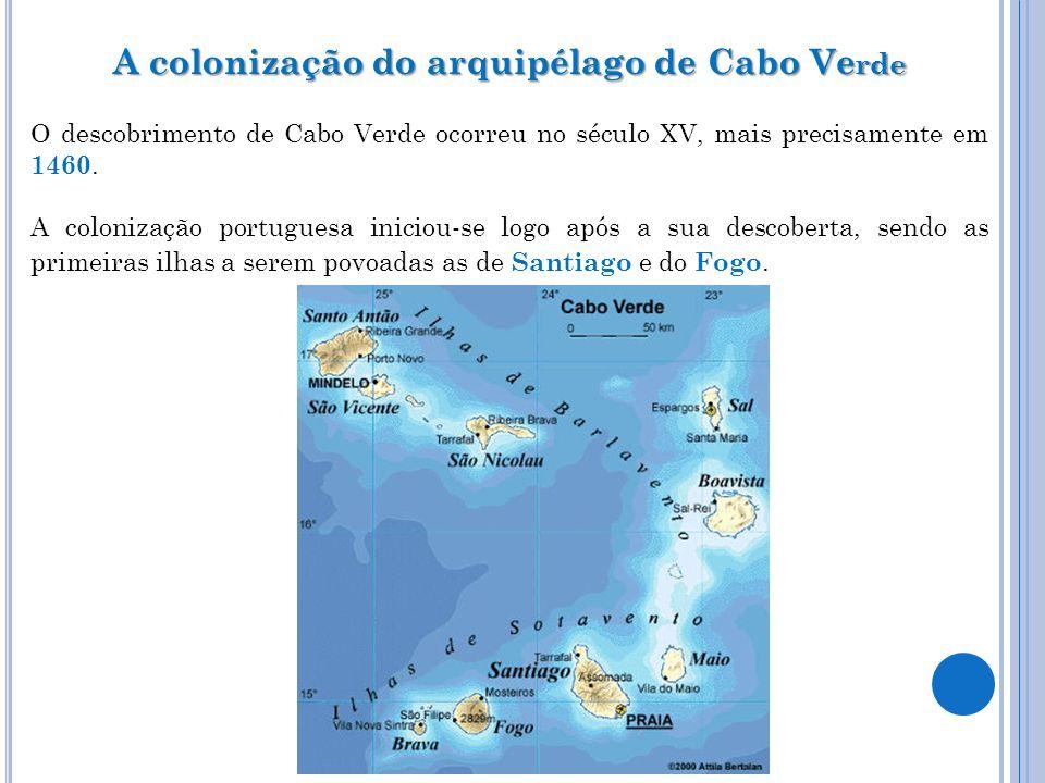 A colonização do arquipélago de Cabo Verde