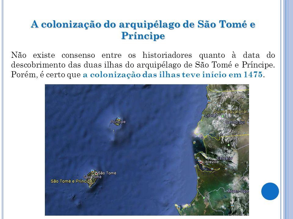 A colonização do arquipélago de São Tomé e Príncipe