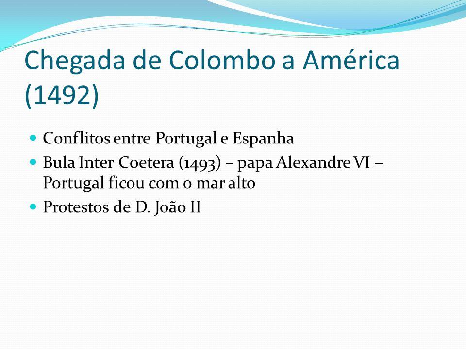 Chegada de Colombo a América (1492)