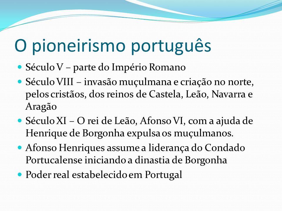O pioneirismo português