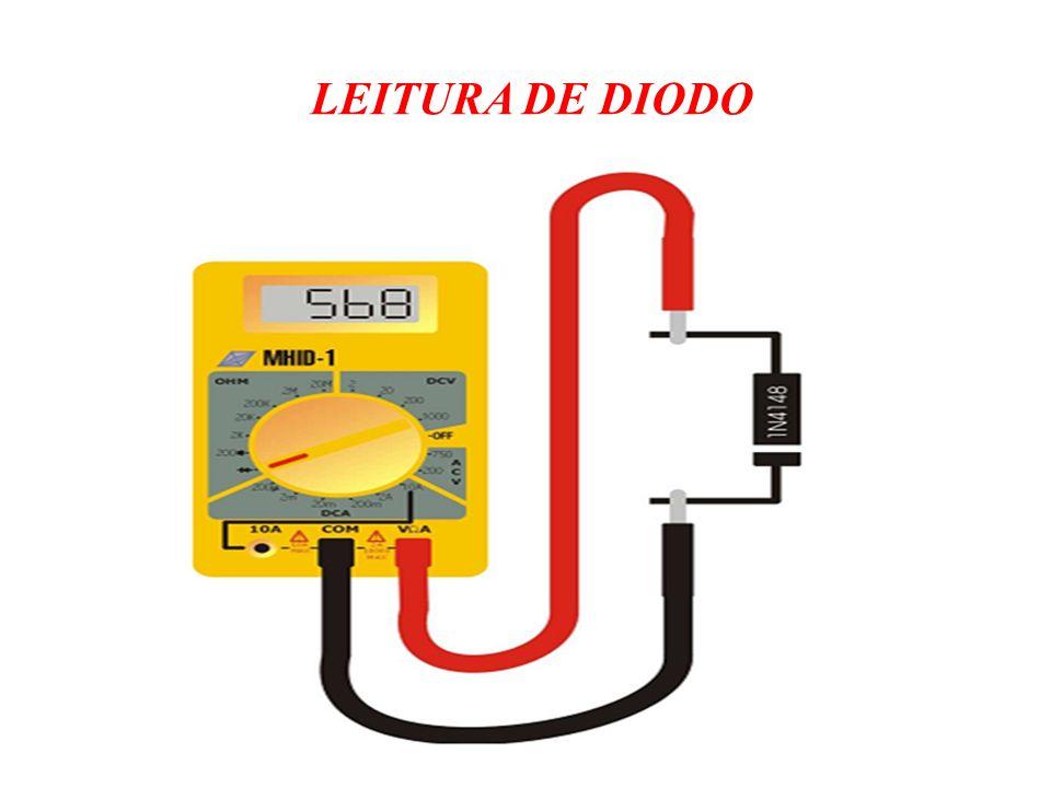 LEITURA DE DIODO