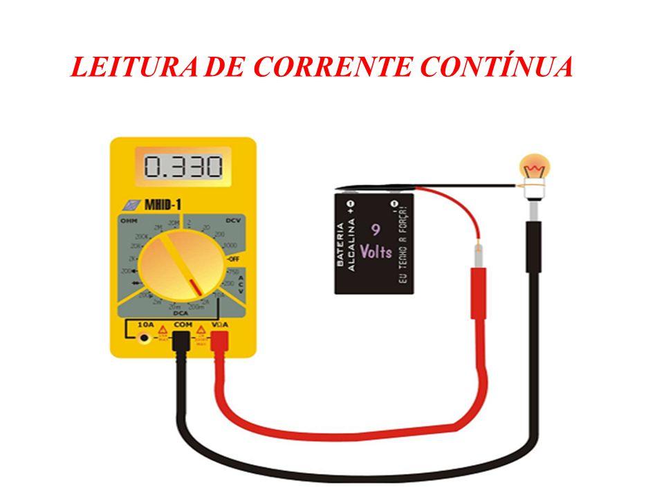 LEITURA DE CORRENTE CONTÍNUA