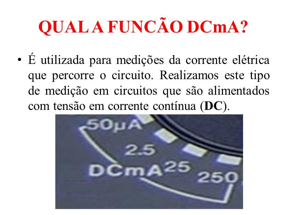 QUAL A FUNCÃO DCmA