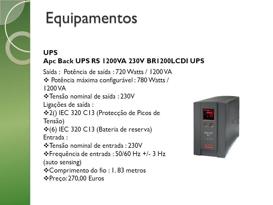 Equipamentos UPS Apc Back UPS RS 1200VA 230V BR1200LCDI UPS