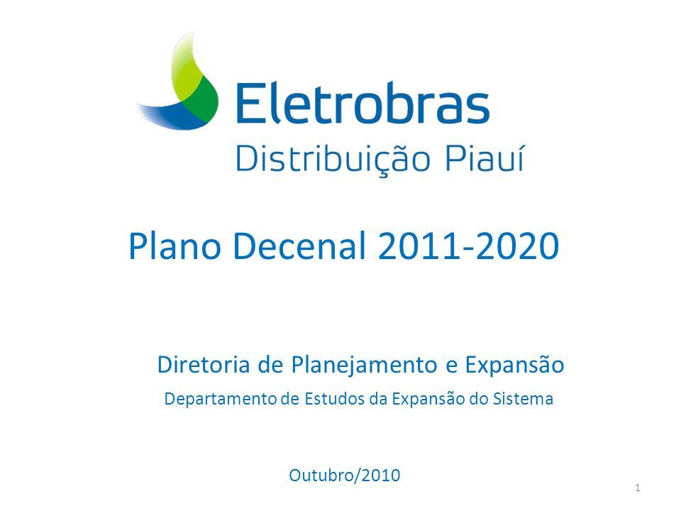 Plano Decenal 2011-2020 Diretoria de Planejamento e Expansão