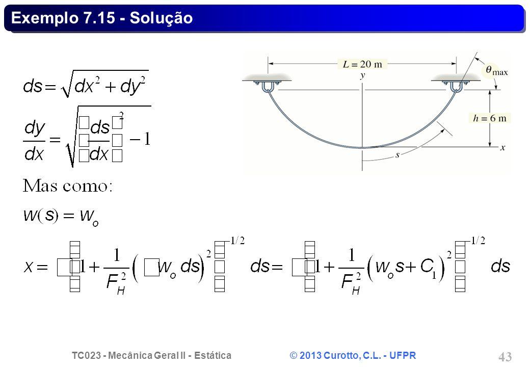 Exemplo 7.15 - Solução