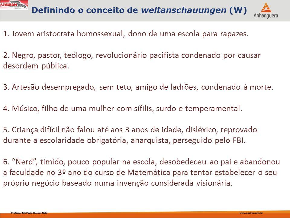 1. Jovem aristocrata homossexual, dono de uma escola para rapazes.