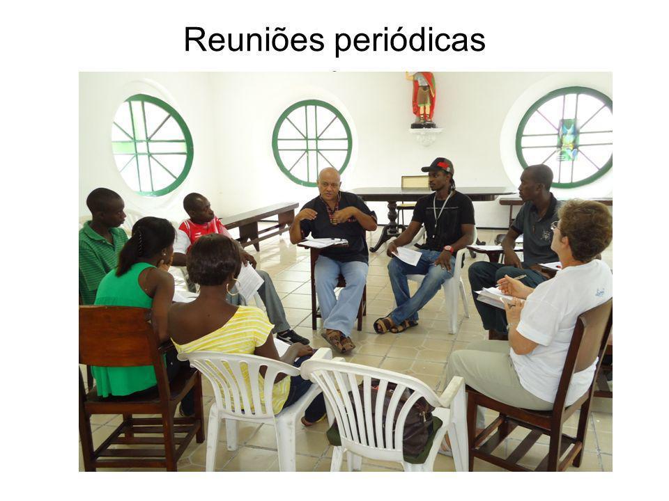 Reuniões periódicas A