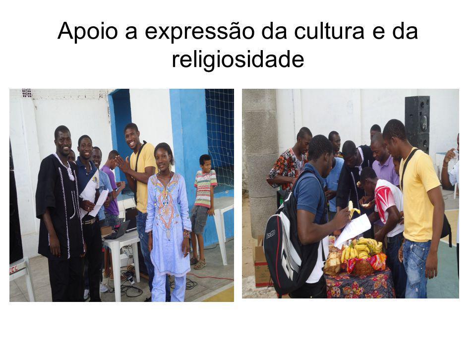 Apoio a expressão da cultura e da religiosidade