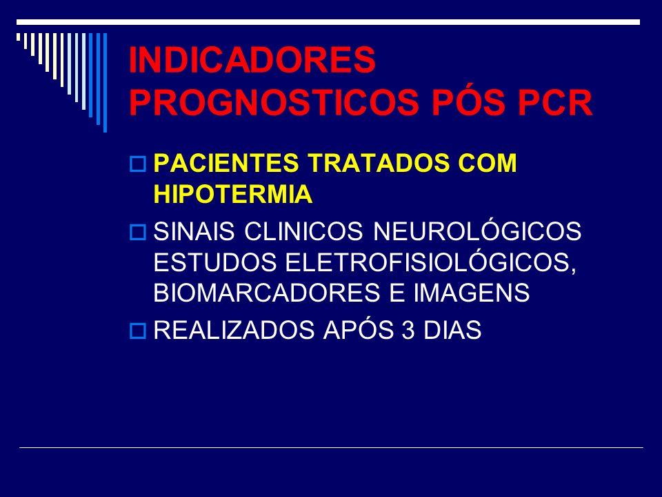 INDICADORES PROGNOSTICOS PÓS PCR