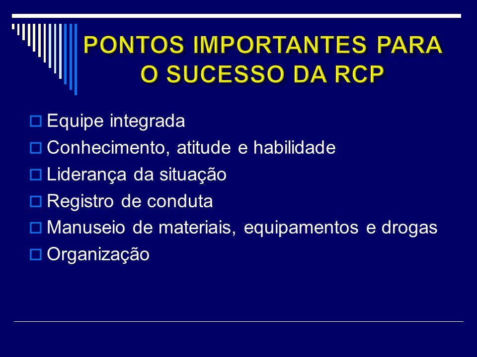 PONTOS IMPORTANTES PARA O SUCESSO DA RCP
