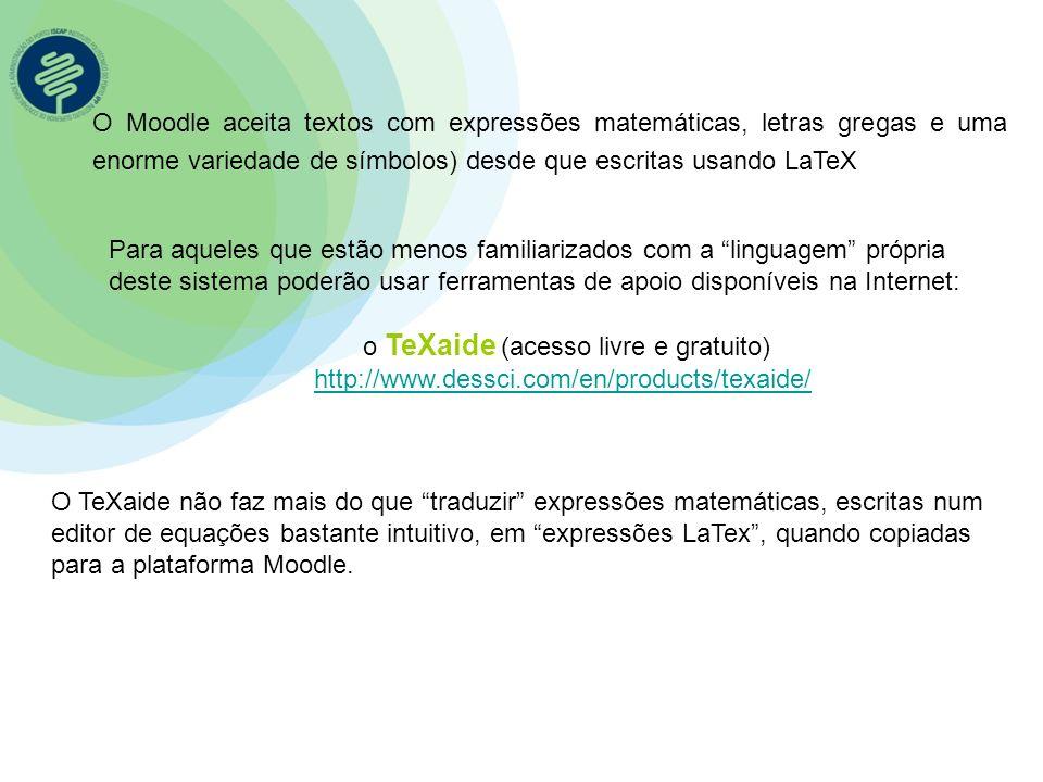 o TeXaide (acesso livre e gratuito)