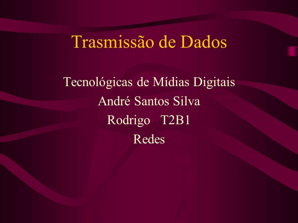 Tecnológicas de Mídias Digitais André Santos Silva Rodrigo T2B1 Redes
