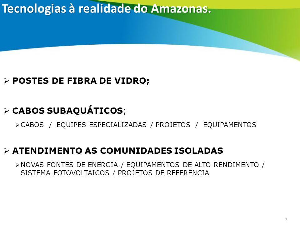 Tecnologias à realidade do Amazonas.