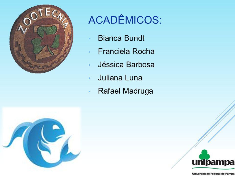 Acadêmicos: Bianca Bundt Franciela Rocha Jéssica Barbosa Juliana Luna