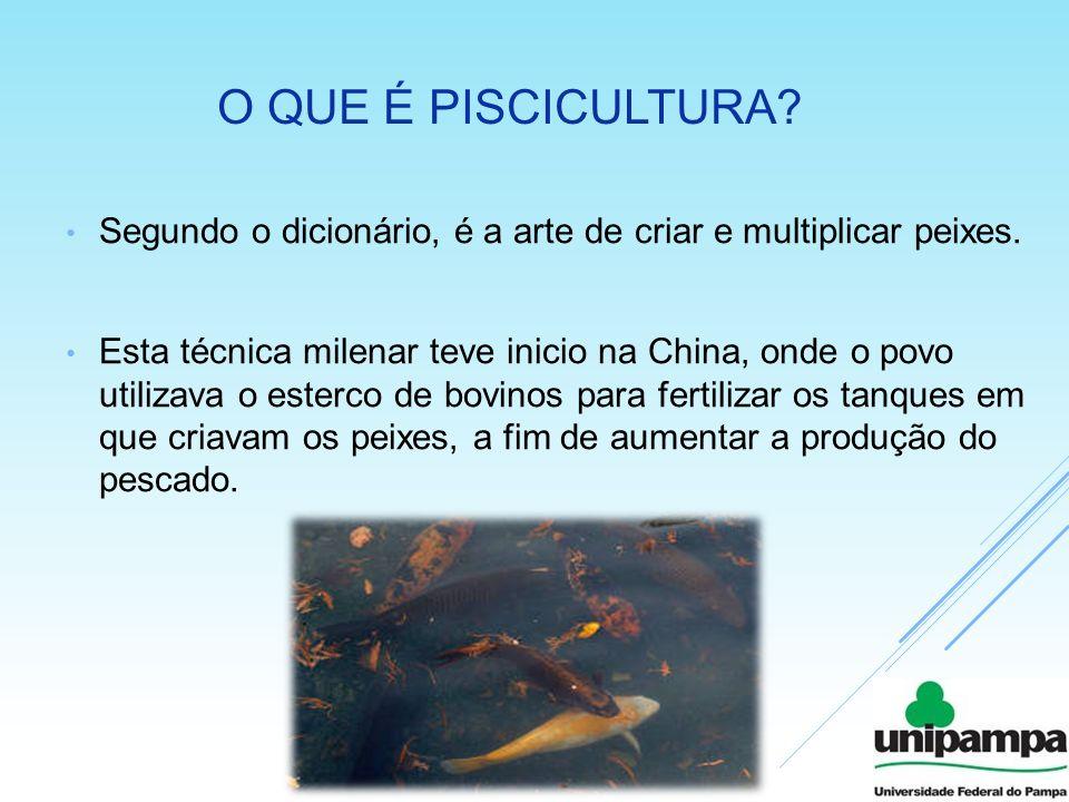 O que é piscicultura Segundo o dicionário, é a arte de criar e multiplicar peixes.