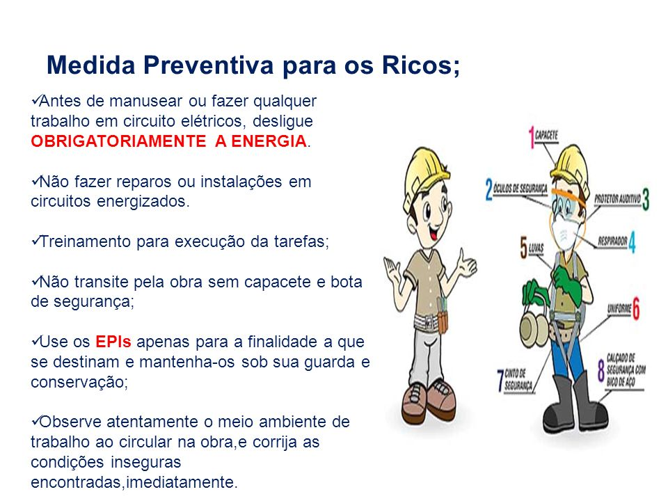 Medida Preventiva para os Ricos;