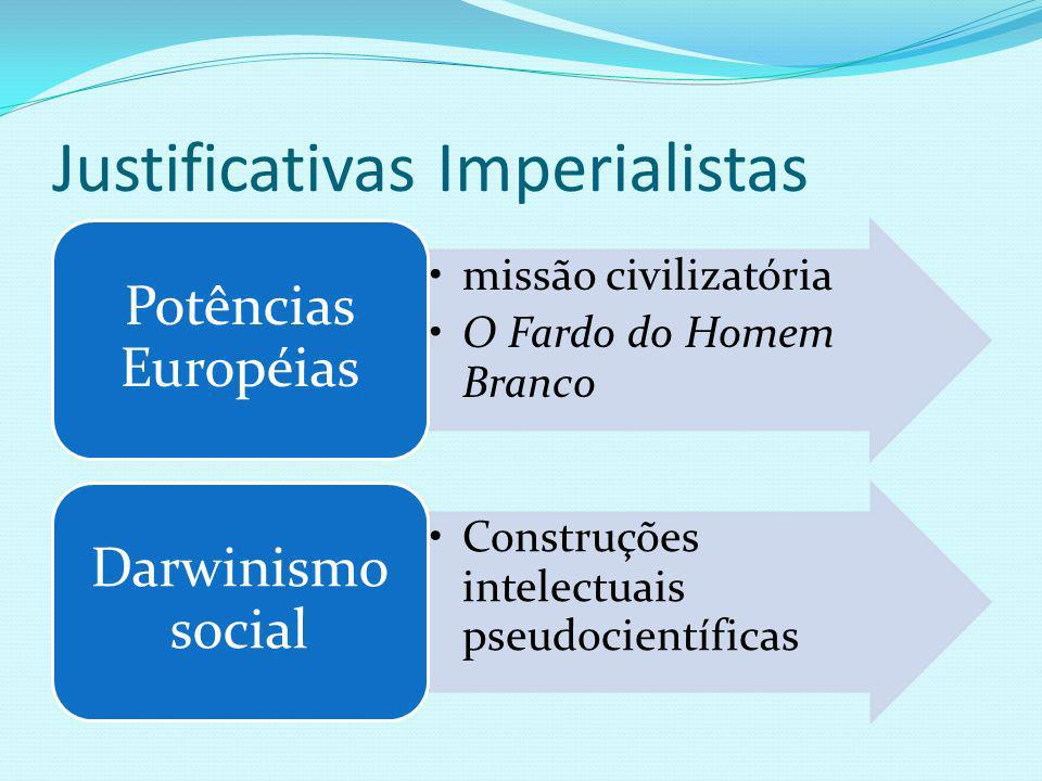 Justificativas Imperialistas