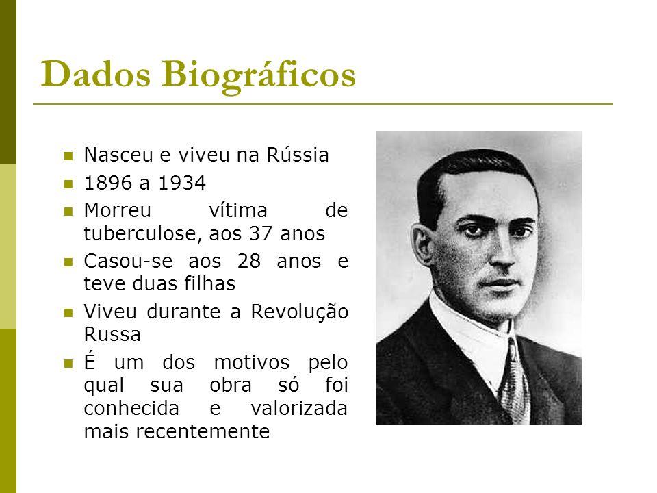 Dados Biográficos Nasceu e viveu na Rússia 1896 a 1934