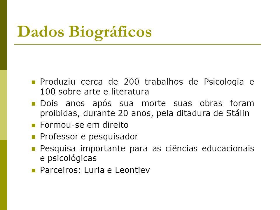 Dados Biográficos Produziu cerca de 200 trabalhos de Psicologia e 100 sobre arte e literatura.