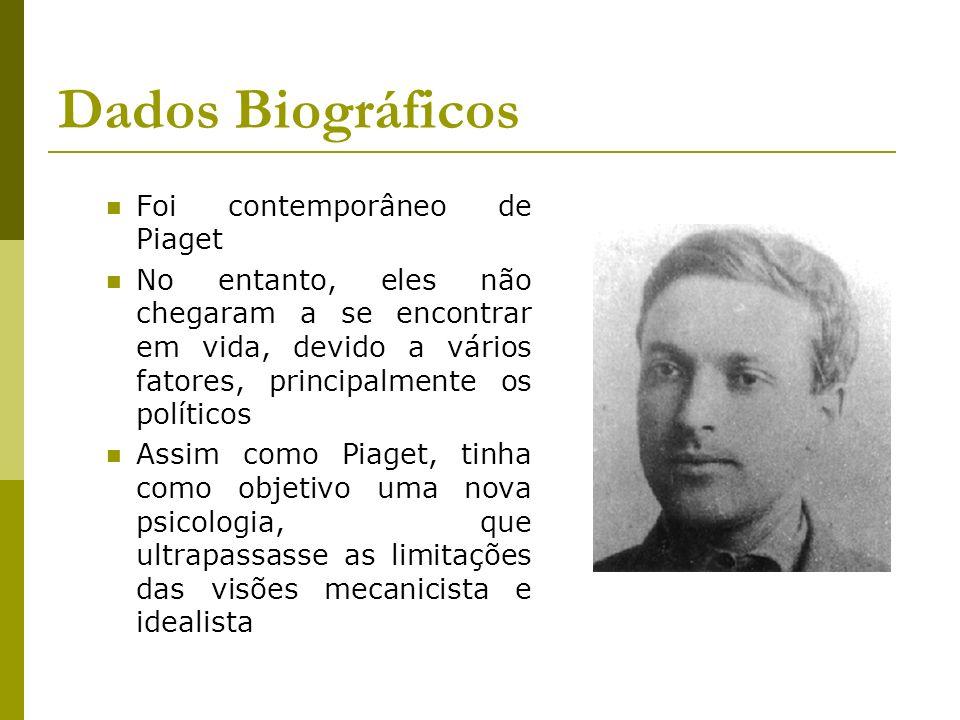 Dados Biográficos Foi contemporâneo de Piaget