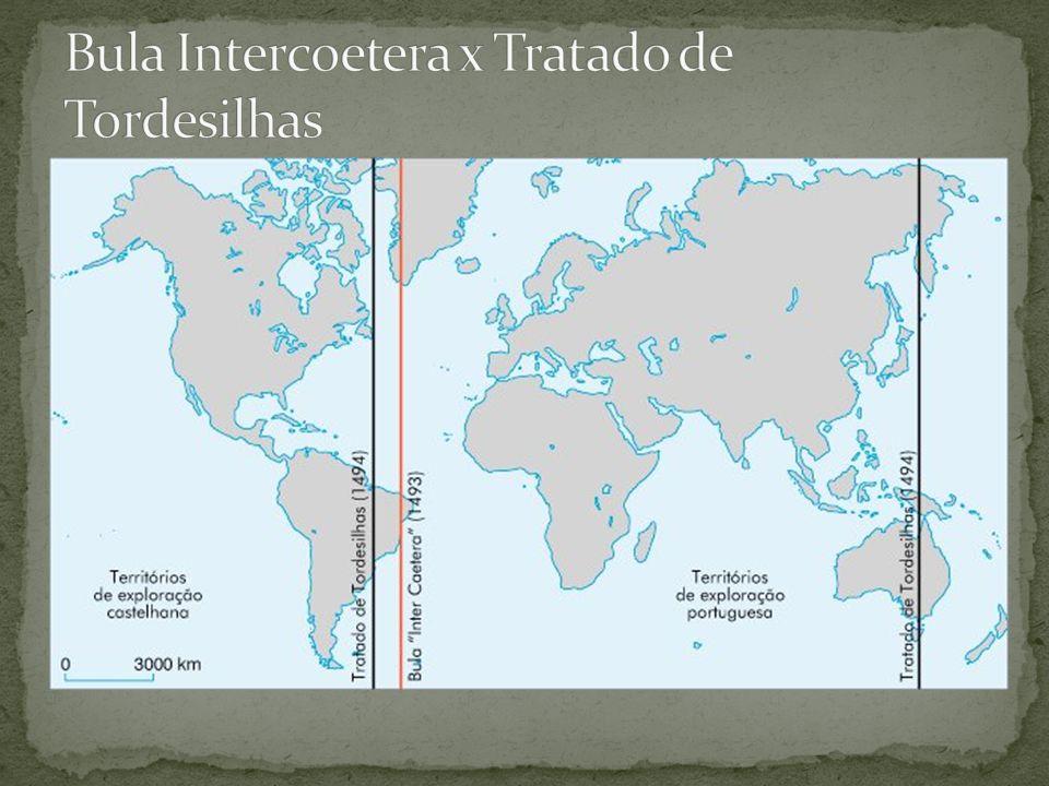Bula Intercoetera x Tratado de Tordesilhas
