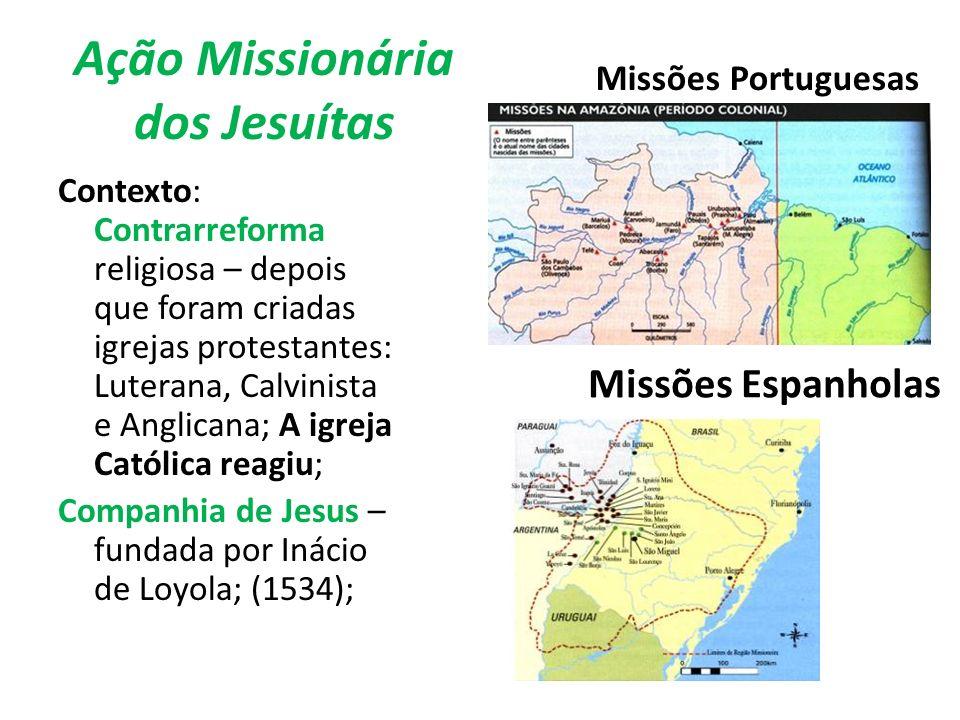 Ação Missionária dos Jesuítas