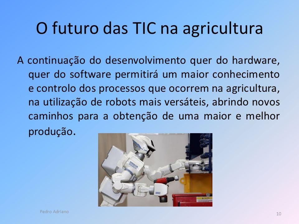 O futuro das TIC na agricultura