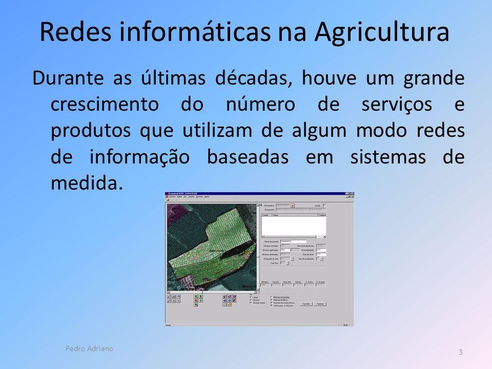 Redes informáticas na Agricultura
