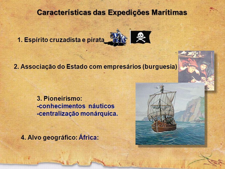 Características das Expedições Marítimas