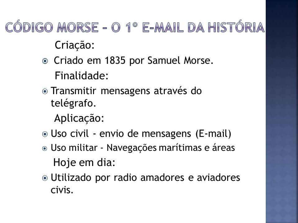 Código Morse – O 1º E-mail da História
