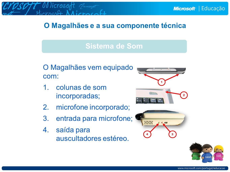O Magalhães e a sua componente técnica